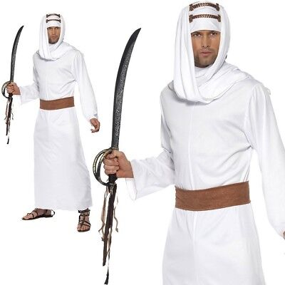 Erwachsene Lawrence von Arabien Kostüm Shiek Arabischer Herren Verkleidung ()