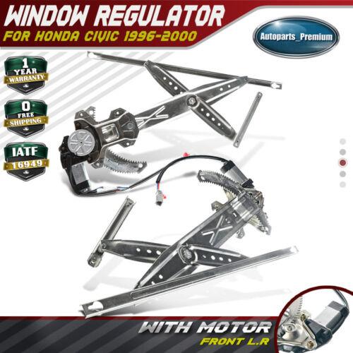 Coupe Power w// Motor CIVIC 96-00 FRONT WINDOW REGULATOR RH
