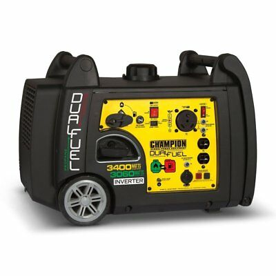 Guardian 3400 Watt Portable Quiet Electric Start Dual Kindling Inverter Generator