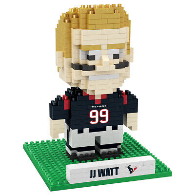 J.J. Watt (Houston Texans) NFL 3D Player BRXLZ Puzzle By Forever Collectibles Nfl Past Player
