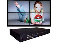 Video Wall Processor 2x2