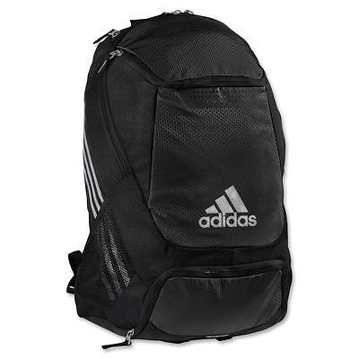 NEW ADIDAS STADIUM TEAM SOCCER BACKPACK BAG  #5136891  BLACK
