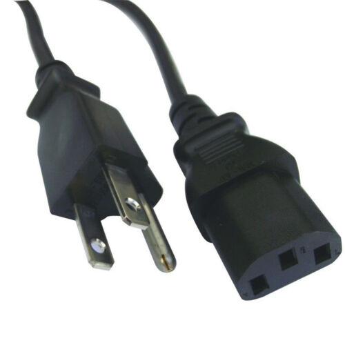 20 PCS 3 Prong Computer PC Monitor Power Cord Cable