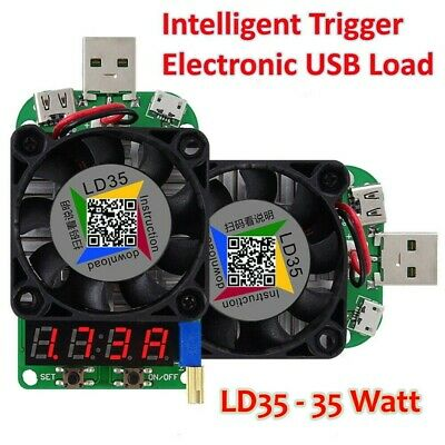 Rui Deng Ld35 35w Electronic Usb Load Constant Current Battery Capacity Tester