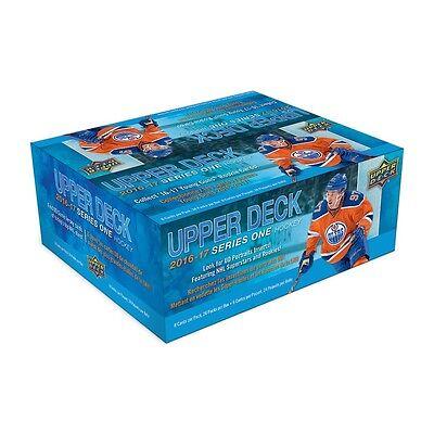 2016-17 Upper Deck Series 1 Hockey 24 Pack Box Factory Sealed