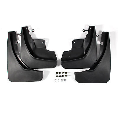 4PCS Front & Rear Splash Guards Mud Flaps For JEEP Grand Cherokee 2011-2017