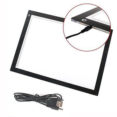 A3 Leuchttisch LED Leuchttablett dimmbar Leuchtpult Leuchtplatte Handwerk