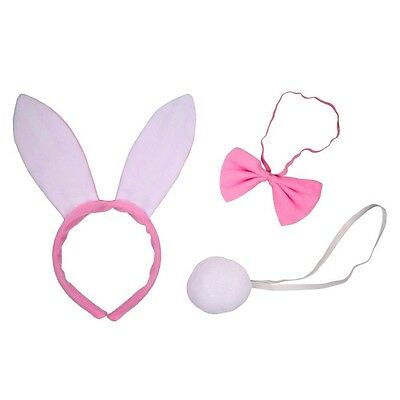 Bunny  Kostüm - Set, für Fasching, Mottoparty, Junggesellinnenabschied