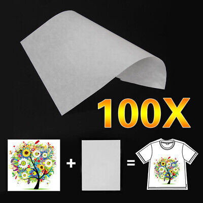 100pc A4 Sublimation Iron On Heat Transfer Paper for inkjet Printer Mug T-shirt for sale  Shipping to Canada