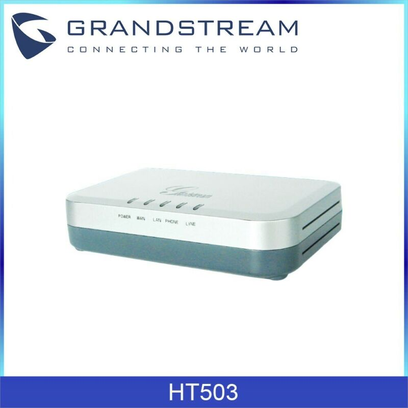 Grandstream HT503 1-Port 10/100 Mbps Analog Telephone Adaptors