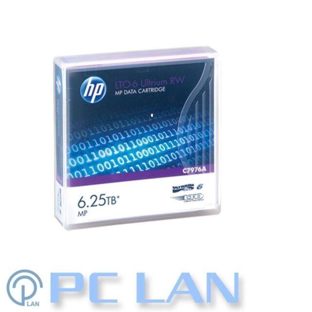 HP LTO-6 Ultrium 2.5TB / 6.25TB RW Data Cartridge P/N: C7976A