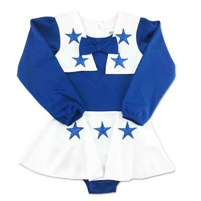 Dallas Cowboy Cheerleading Outfit (Dallas Cowboys Cheerleader Cheer Outfit Girls/Youth/Infant/Child 18 MONTH)