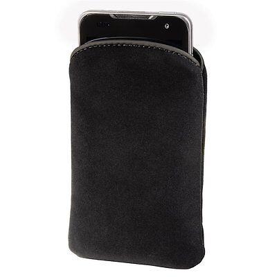 Brille Schlüssel Handy Sleeve Velvet Smartphone Tasche Universal Etui Schwarz ()
