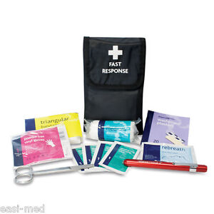Fast Response First Aid Kit Belt Pouch Complete