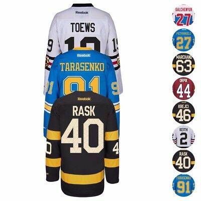 2015 2017 Nhl Winter Classic Team Player Reebok Premier Jersey Collection Mens