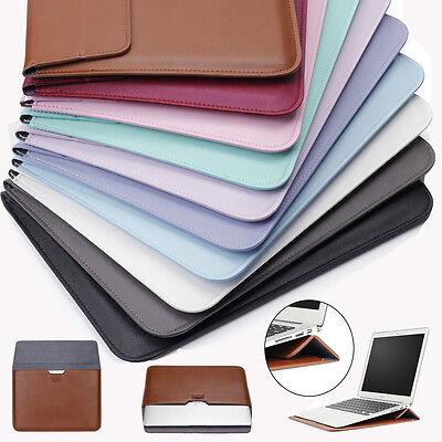 12' Envelope Laptop Sleeve - PU Leather Envelop Laptop Sleeve Carry bag Case For Macbook Air Retina 11