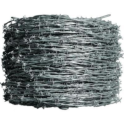 1320 Ft. 12-12 Gauge Barbed Wire Fencing 4-point Class I Durable Galvanized