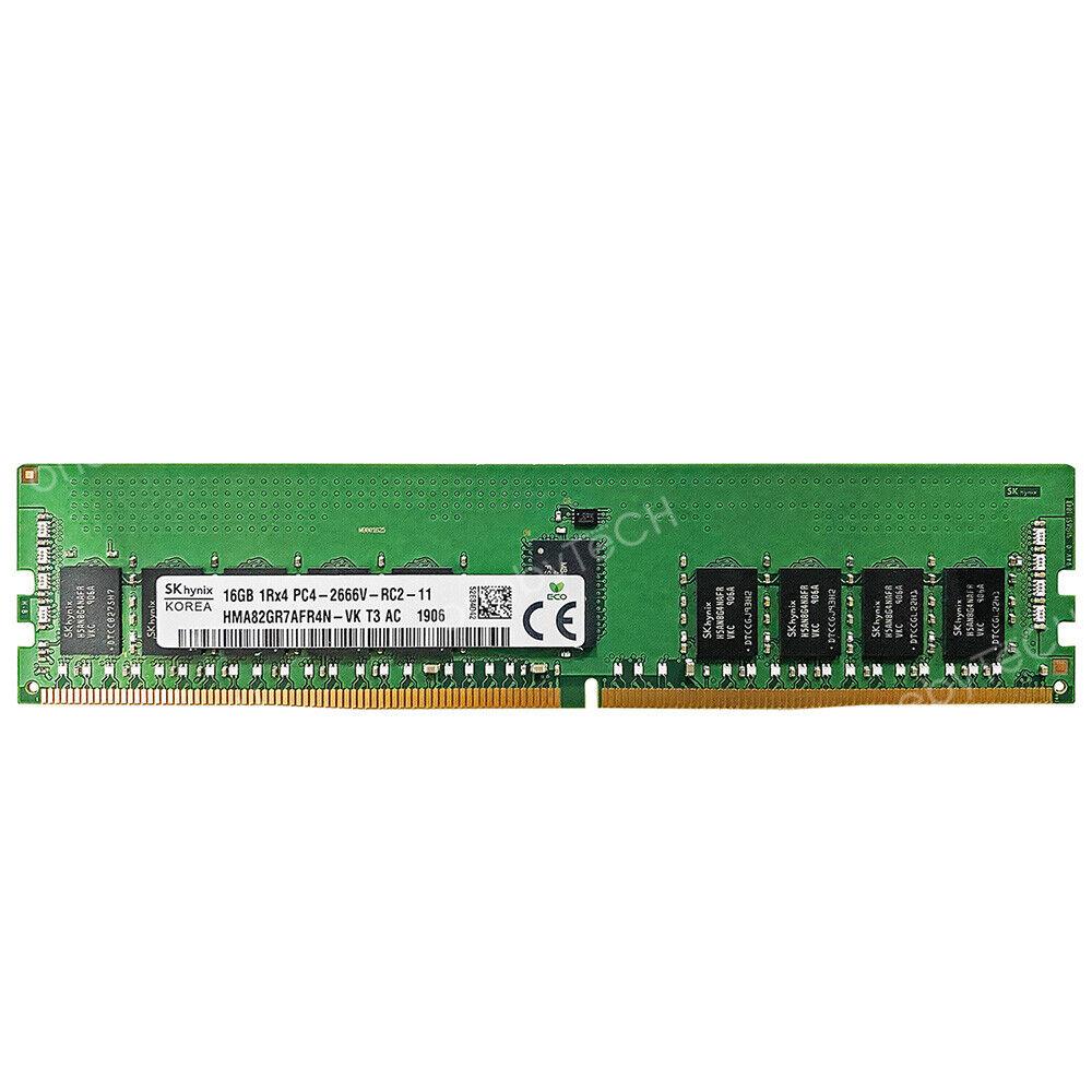 DDR4-2666MHz PC4-21300 ECC RDIMM 1Rx4 1.2V Registered Memory for Server//Workstation 4x16GB 64GB