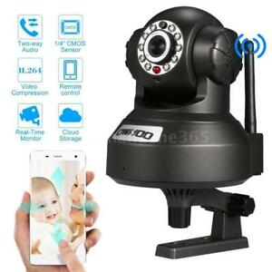 100% BRAND NEW DANS LA BOITE WIRELESS CAMERA IP SURVEILLANCE WIFI CELLULAIRE/LAPTOP A/V NIGHT VISION+AUDIO HIGH QUALITY