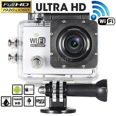 Wifi 12mp Hd 1080p Waterproof Sports Dv Action Camera Bic...