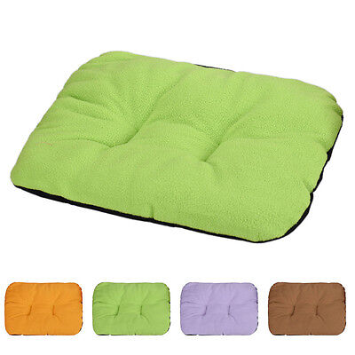 Dog Cat Pure Color Blanket Pet Cushion Small Dog Cat Bed Soft Warm Sleep Mat Hot