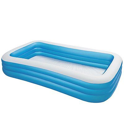 """Intex Swim Center Family Inflatable Pool, 120"""" X 72"""" X 22"""", for Ages 6+, New"""