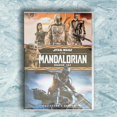 The Mandalorian : Complete Season 1 2 (DVD, Region 1) Brand New Fast Shipping