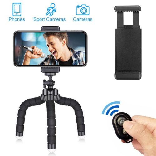 2019 Smartphone Stativ Handy Ständer Selfie Klemmstativ Tripod Dreibein GoPro