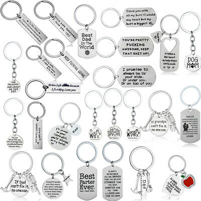 Best Friend Keychain Friendship Family Keyring Key Rings Chains Couple