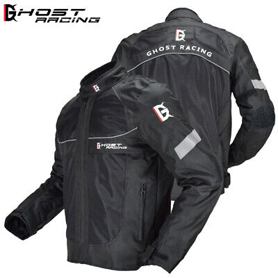 Motorcycle Jacket Reflective Racing Protective Gear Armor Safety Moto Clothing