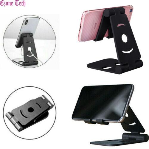 Universal Cell Phone Tablet Desk Stand Holder Mount Cradle Adjustable Foldable