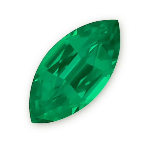 Lab-created Emerald Marquise (10x5mm -6x3mm)