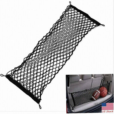 Cargo Net Envelope Style Trunk Rear Organizer for 2011-2018 Jeep Grand Cherokee ()