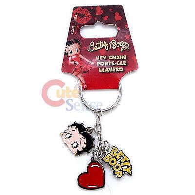 Betty Boop 3 Hänge Metall Schlüsselanhänger Auto - Betty Boop Zubehör