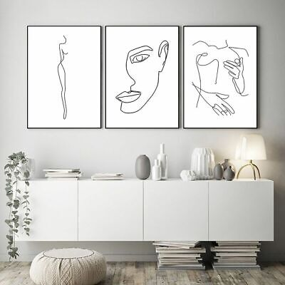 Abstract Poster Wall Art Canvas Painting Abstract Body Posters And Prints Decors