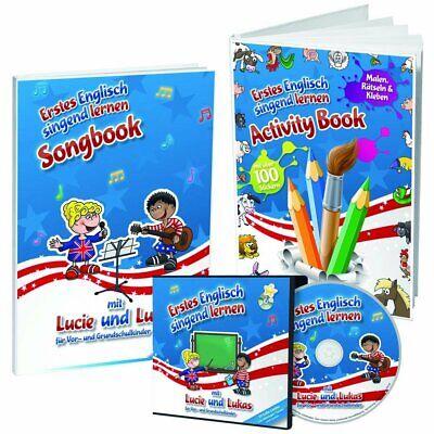 inder / SINGEND Englisch LERNEN / 3-teiliges Einstiegs-Set (Lernen Bücher Für Kleinkinder)