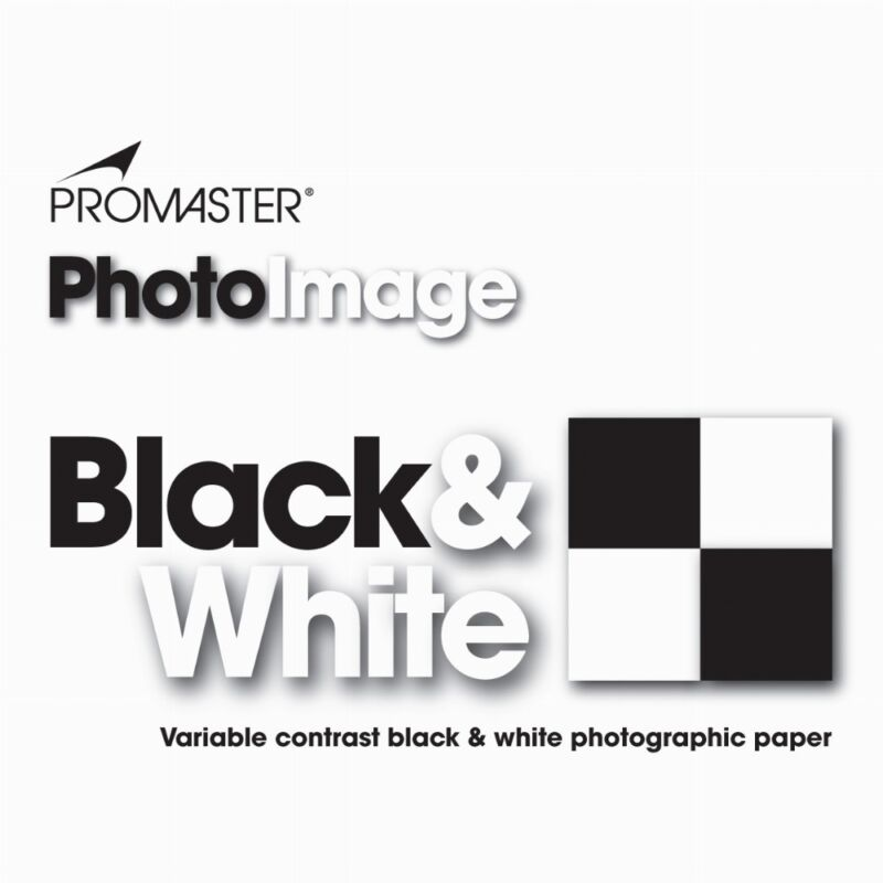 Promaster Black & White Darkroom Photo Paper 100 sheets 5x7 GLOSSY #3024
