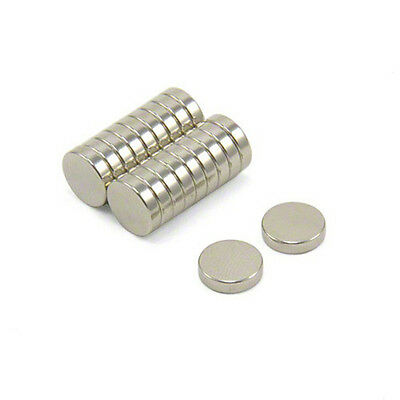 20 Neodymium Magnets 14 X 116 Inch 6mm X 1.5mm Disc N48 New Super Strong