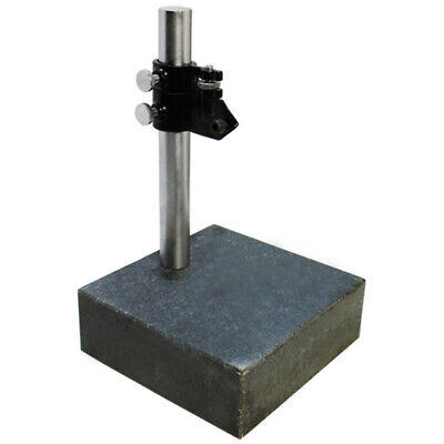 Granite Check Indicator Stand Surface Plate 6 X 6 X 2 Inch