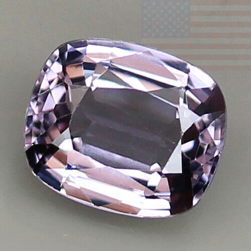 1.44CT SPINEL INCREDIBLE GRAY WITH VIOLET LOOSE NATURAL RARE GEMSTONE (BURMA)