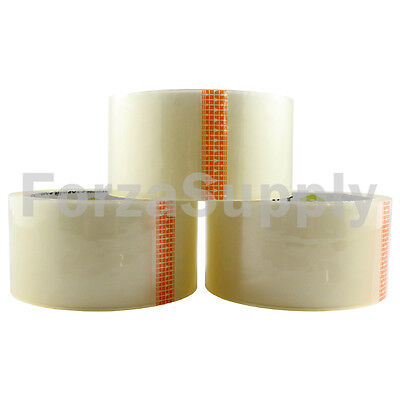 6 Rolls Ecoswift Brand Packing Tape Box Packaging 1.6mil 2 X 55 Yard 165 Ft