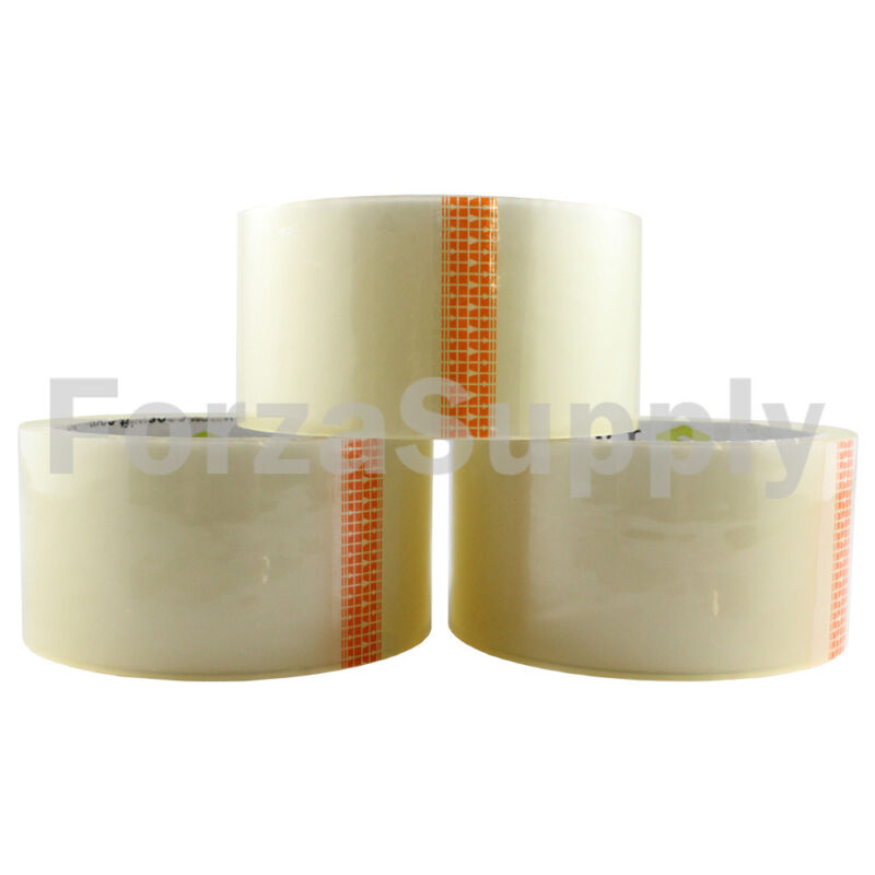 "6 Rolls ""EcoSwift"" Brand Packing Tape Box Packaging 1.6mil 2"" x 55 yard (165 ft)"