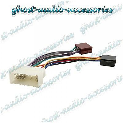 ISO Wiring Harness Connector Adaptor Stereo Radio Lead loom for Hyundai Matrix