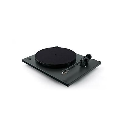 REGA RP1 Plattenspieler Cool grey schwarz + Carbon MM Turntable SONDERANGEBOT ()