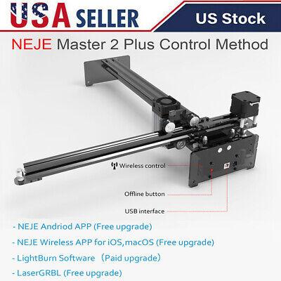 Neje Master 2 Plus 30w Cnc Laser Engraver Cutting Machine Cutter 255440mm X0x1