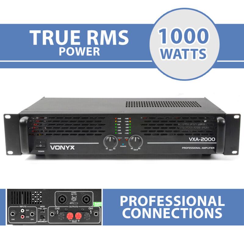 VXA-2000 DJ Power Amplifier 2 Channel Stereo & Bridge PA 19