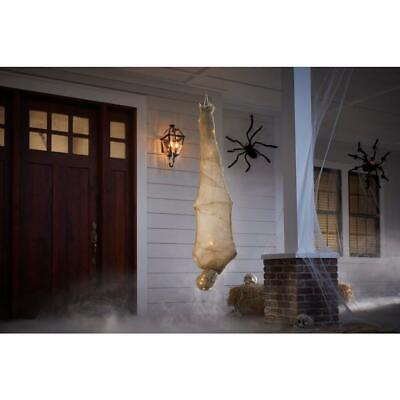 5.5 ft. Animated LED Hanging Mummy -Halloween - decor Props