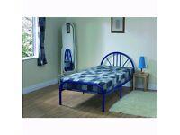 NEW Silver Single 3FT Jennifer Bed Frame without mattress