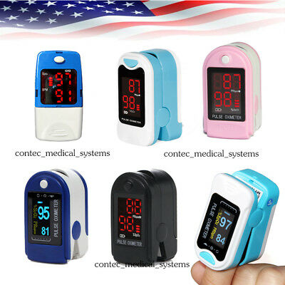 Fingertip Pulse Oximeter Blood Oxygen Monitor Heart Rate Spo2 Pr Meter Sensorus