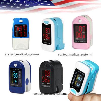 Newest Finger Tip Pulse Oximeter Blood Oxygen Monitor Spo2 Pr Machine Us Seller